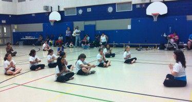 CA court OKs school yoga
