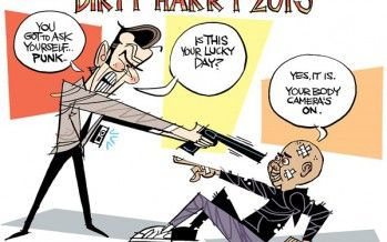 Cartoon: Dirty Harry 2015