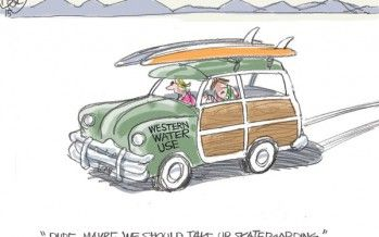 CARTOON: Surf's up?