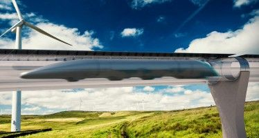 Hyperloop test track to break CA ground