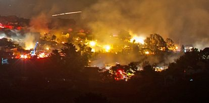 PG&E is blamed for this 2010 disaster in San Bruno.