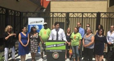 Electric car sharing program rolls out in L.A.