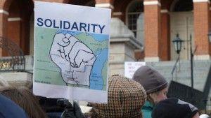 union labor protest