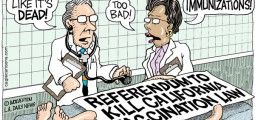 CARTOON: Vaccination Referendum Failure