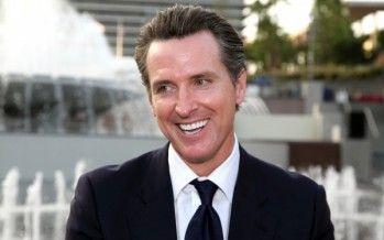 Gavin Newsom transforms Lt. Governor's post