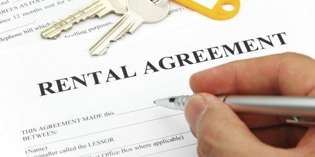 sex offender rental agreement