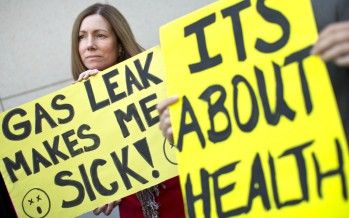 Brown declares emergency over gas leak