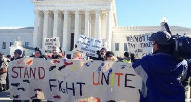 Union funding endangered by pending Supreme Court case