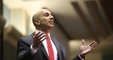 Kashkari makes splash in new job with Fed