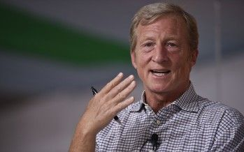 Steyer, CA Democrats denounce money in politics