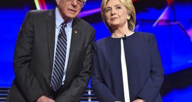 Clinton, Sanders virtually tied in CA, both lead Trump