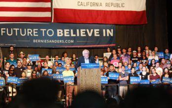Bernie Sanders goes for broke leading up to CA primary