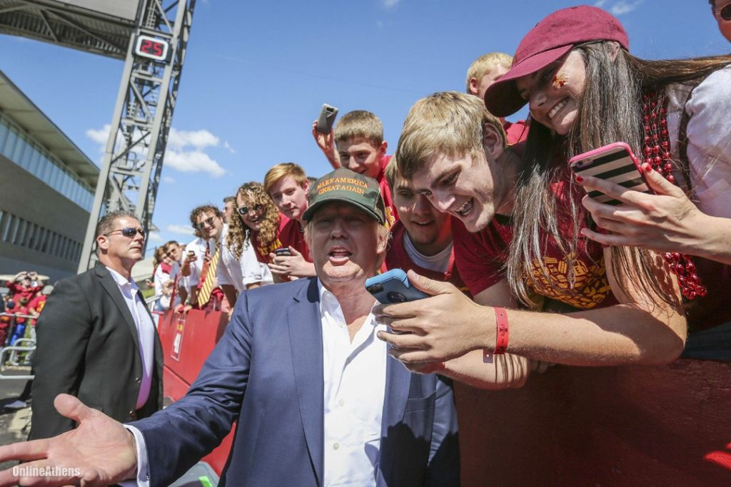Donald Trump and millennials