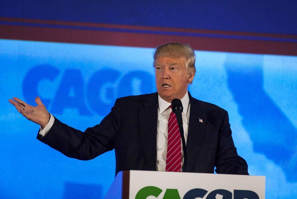 Donald Trump CAGOP