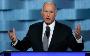 Gov. Brown cautions Democrats on 2016 presidential race