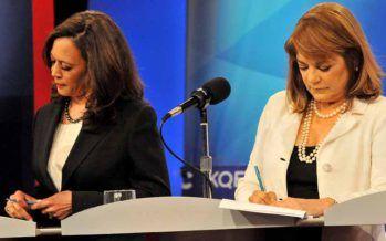 Kamala Harris and Loretta Sanchez race for U.S. Senate hits fever pitch