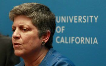 Janet Napolitano rebukes policing speech on college campuses