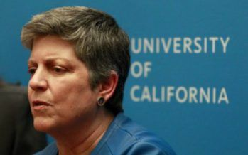 Exit of UC president's aides brings university scandal back into spotlight