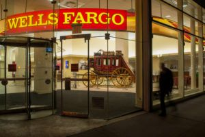 Wells Fargo & Co. Bank Branches Ahead Of Earnings Figures