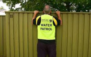 Sacto water deputies patrolling for water wasters