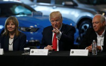 Trump to scrap vehicle mileage standards –  fight with California, environmentalists likely
