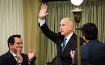 Gov. Brown touts liberal accomplishments, rebukes Washington Republicans in final State of the State address