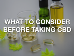 What Should You Consider Before Taking CBD?